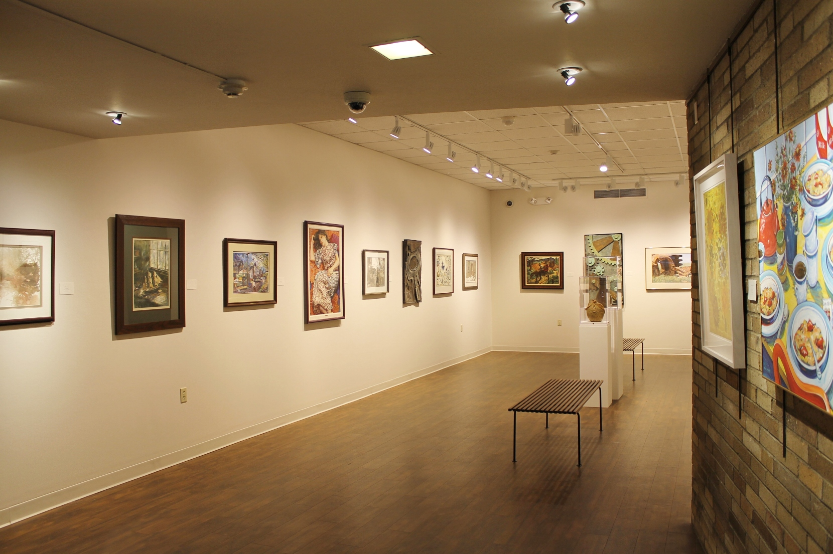 The Little Art Gallery, 85th Annual May Show in 2015