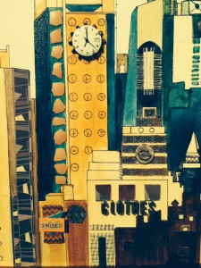 70 Media Avenue Collage by Gail Wetherell-Sack