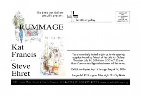 Rummage Exhibit July 14 through August 14