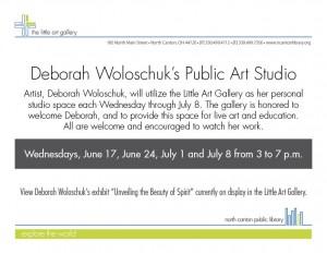 Deborah Woloschuk's Public Art Studio