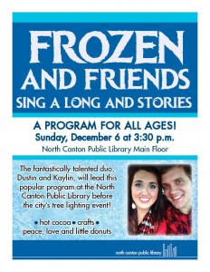 Frozen and Friends Sing-a-Long and Stories