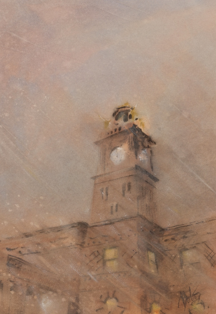 Bob Maurer, Stark County Courthouse Winter