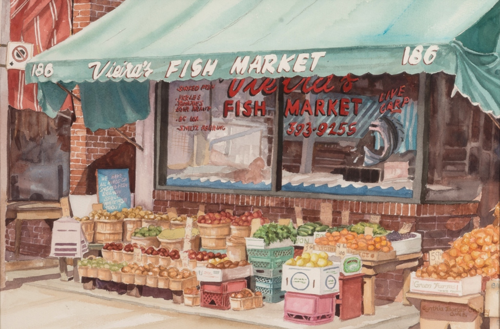 Cynthia Croley, Reflections on a Fish Market