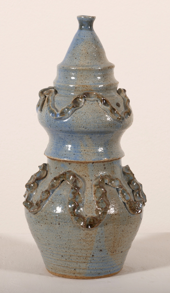 Herta Rainey, Blue Lidded Vesel